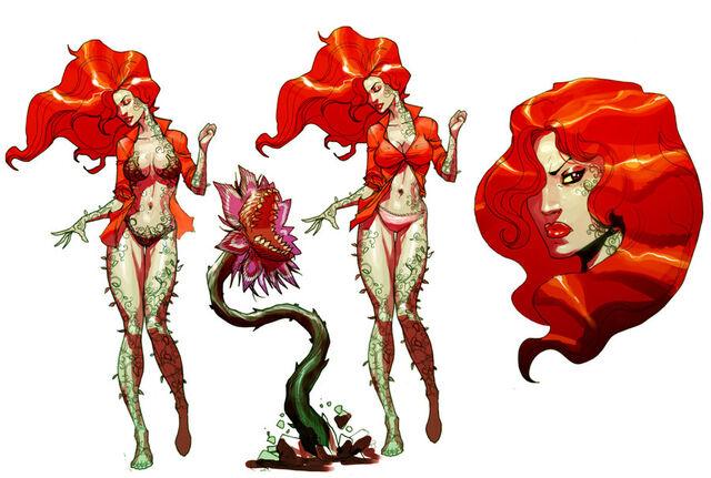 File:Poison Ivy sketch.jpg