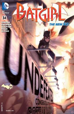 Batgirl Vol 4-34 Cover-1