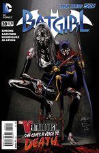 Batgirl Vol 4-20 Cover-1