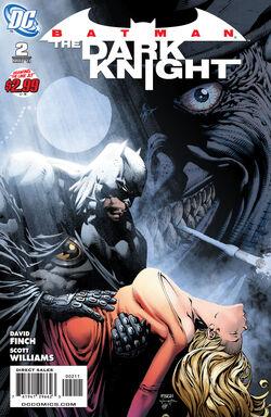 Batman The Dark Knight-2 Cover-1