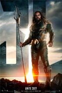 Justice League - Movie Poster (Aquaman)