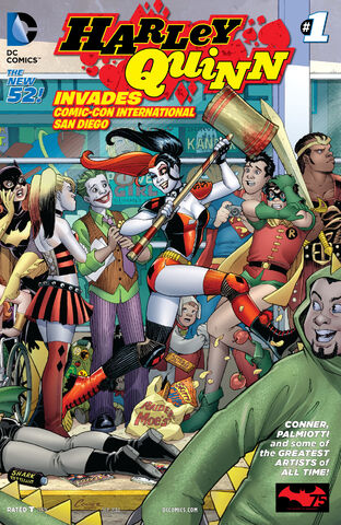 File:Harley Quinn Invades Comic Con International San Diego Vol 2-1 Cover-2.jpg