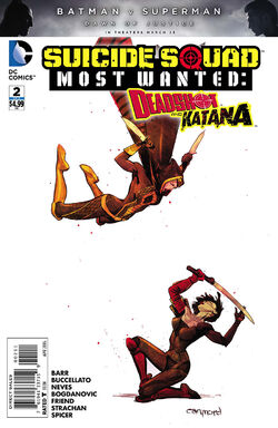 Suicide Squad Most Wanted Deadshot Katana Vol 1-2 Cover-1