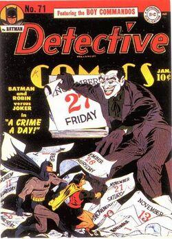 Detective Comics Vol 1-71 Cover-1