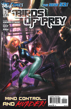 Birds of Prey Vol 3-5 Cover-1