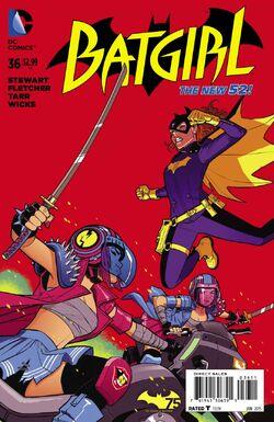 Batgirl Vol 4-36 Cover-1