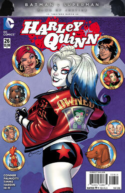 Harley Quinn Vol 2-26 Cover-1