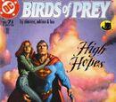 Birds of Prey Issue 71