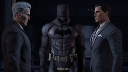 Bruce, Alfred & the Batsuit