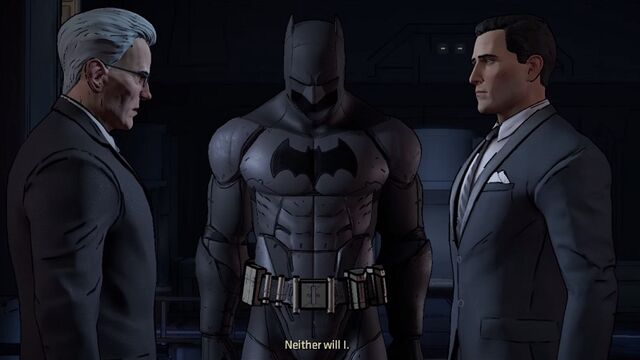 File:Bruce, Alfred & the Batsuit.jpg