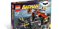 7886 The Batcycle: Harley Quinn's Hammer Truck