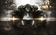 Arkham Knight-Batmobile