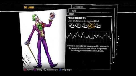 Batman- Arkham Asylum - Joker Interview Tapes