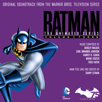 Batman The Animated Series Original Soundtrack, Vol 3