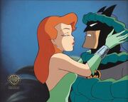 Ivy and Batman kiss Litograph