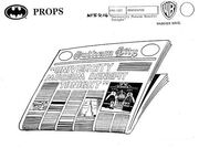 Newspaper Model Sheet