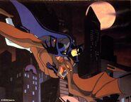 Man Bat Lithograph