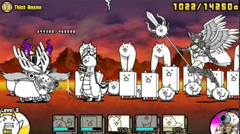 The Battle Cats - Thick Magma - Played by Nurse Wuffa