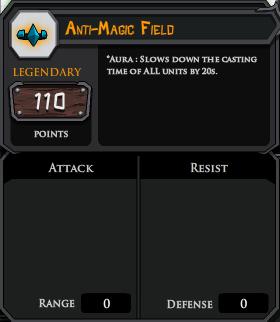 Anti Magic Field profile