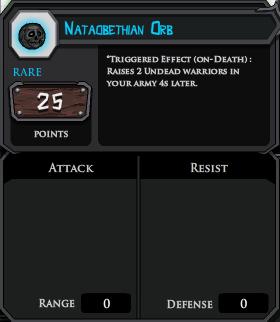 Nataobethian Orb profile