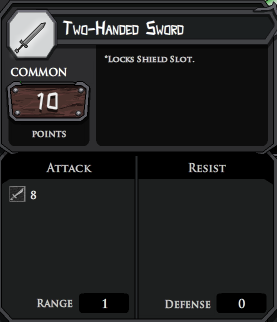 Two Handed Sword profile