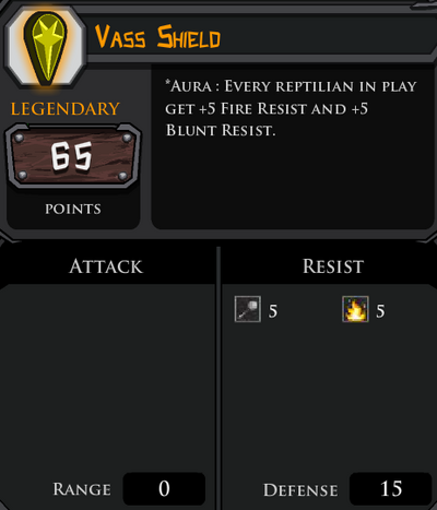 Vass Shield profile