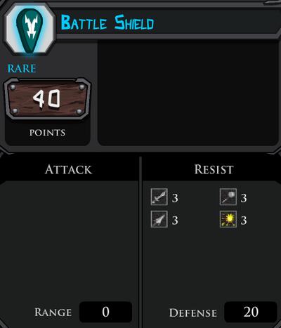 Battle Shield profile