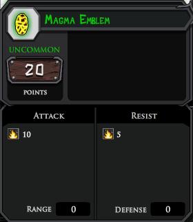 Magma Emblem profile