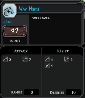 War Horse profile
