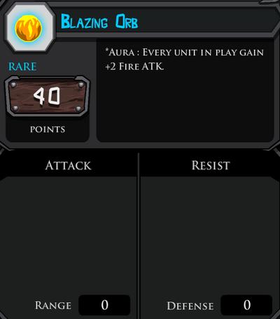 Blazing Orb profile