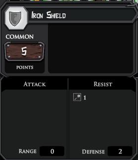 Iron Shield profile