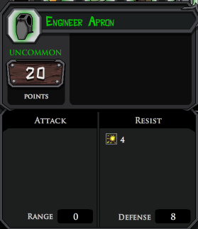 Engineer Apron profile