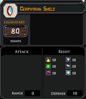 Ceriphyrian Shield profile