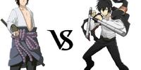 Sasuke Uchiha vs. Hibari Kyoya
