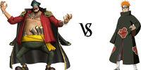 Blackbeard vs. Pain