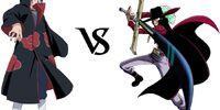 Itachi Uchiha vs. Dracule Mihawk