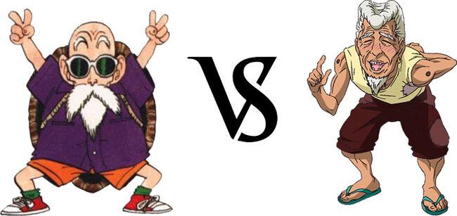 Roshi vs. Jirou