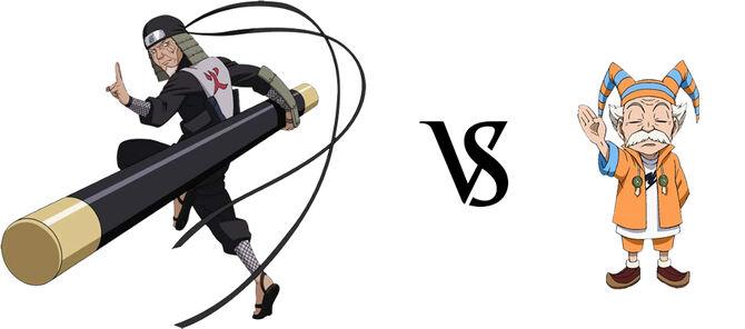 Hiruzen Sarutobi vs. Makarov