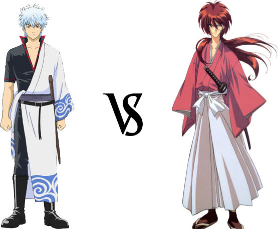 Gintoki vs. Kenshin