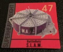 S.L.A.M sticker