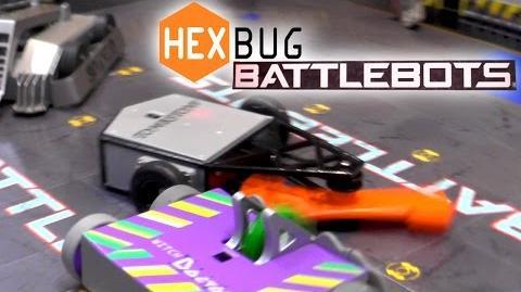 Hexbug Battlebots - Scootin Pals, Nano Nitro, Nano Junior