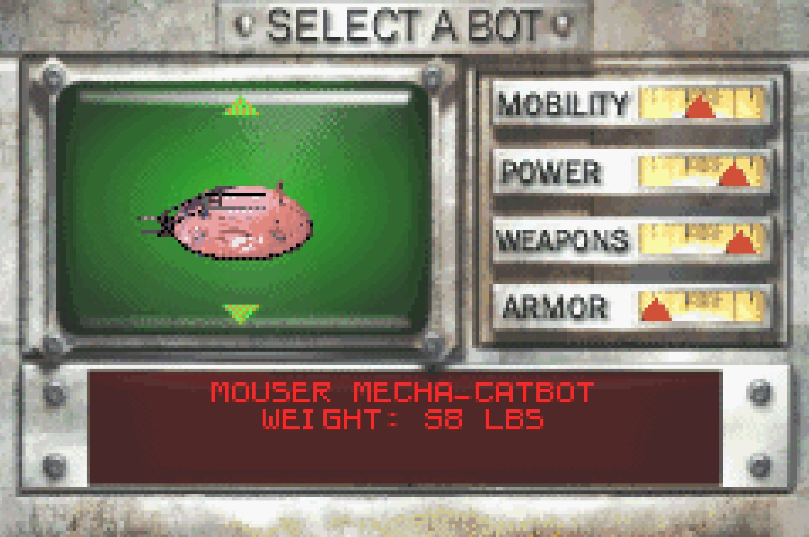 Mouser Catbot GBA