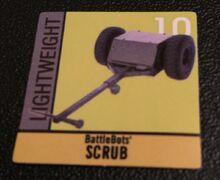 Scrub sticker