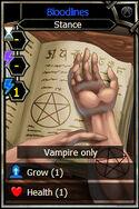 Bloodlines card