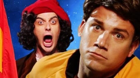 Columbus vs Captain Kirk. Epic Rap Battles of History