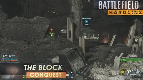 Battlefield Hardline Gameplay Conquest on The Block