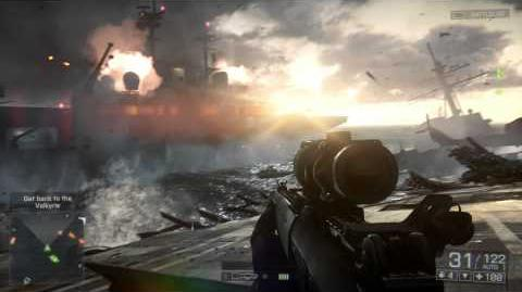 """Battlefield 4 Official """"Angry Sea"""" Single Player Gameplay Video"""