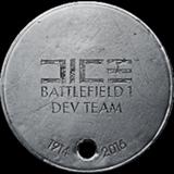 BF1 DICE Dev Team Dog Tag