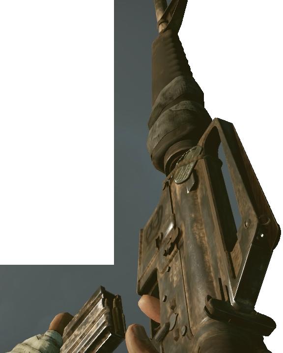 image bfbc2v m16a1 reloadpng battlefield wiki