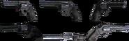 Battlefield 3 .44 Magnum Model Renders